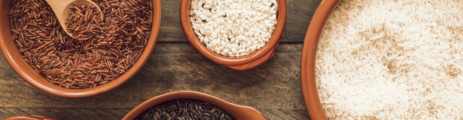 Entenda a diferença do arroz branco para o integral